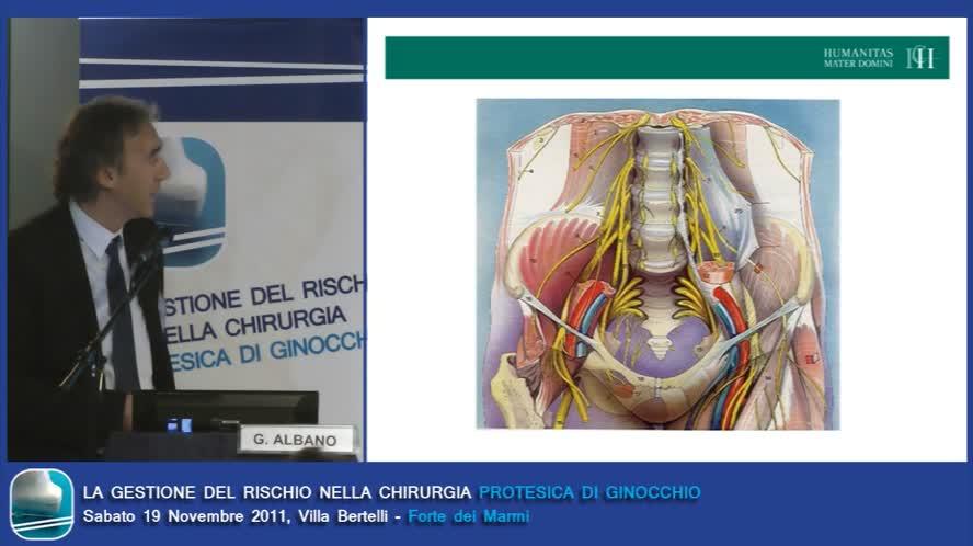 Anestesia per blocco periferico
