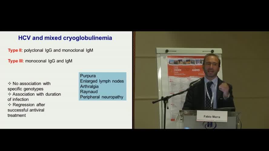 Focus-on su infezione da HCV