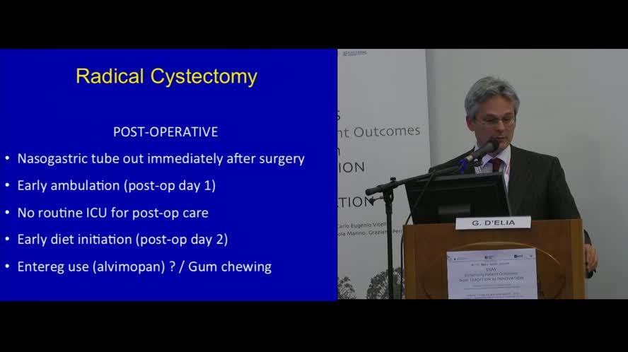 ERAS programs for Urology