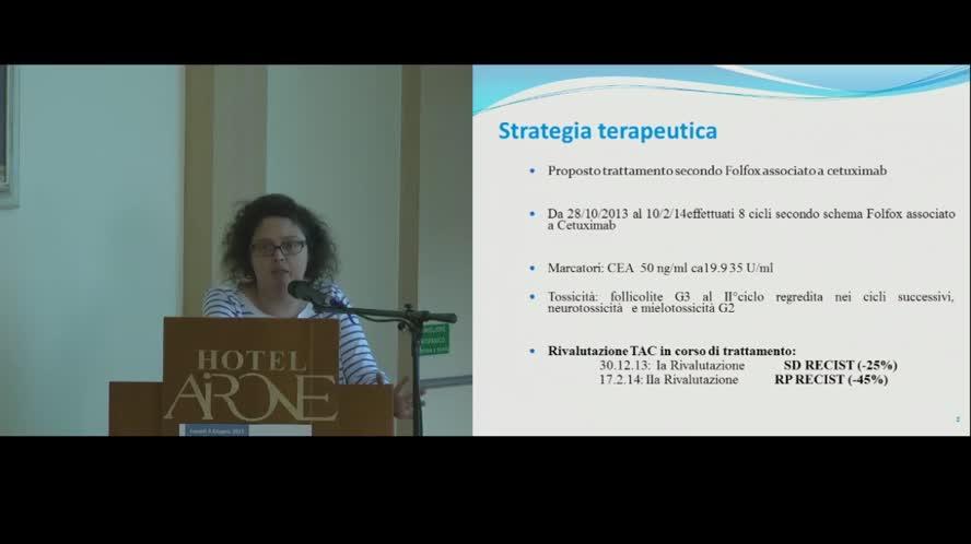Presentazione Caso Clinico (potenzialmente resecabile)